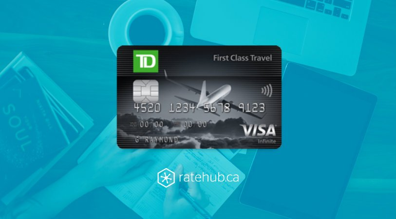 td first class travel visa rewards