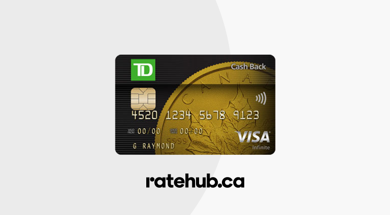 Td Credit Cards >> Review Td Cash Back Visa Infinite Card Ratehub Ca Blog