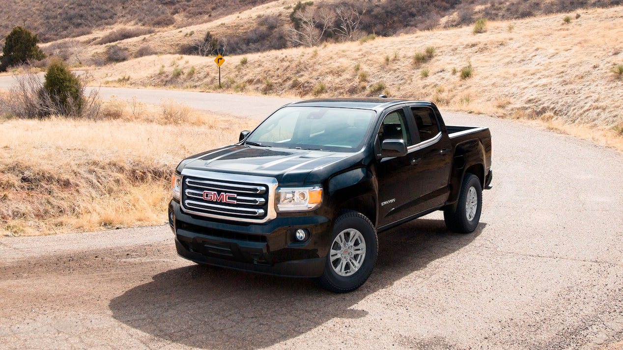 cheapest-truck-to-insure-in-Canada-GMC-Canyon