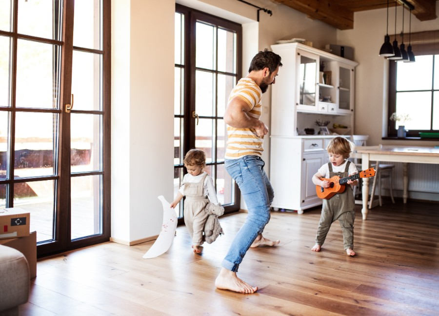 personal-finance-predictions-2021-husband-dancing-with-kids
