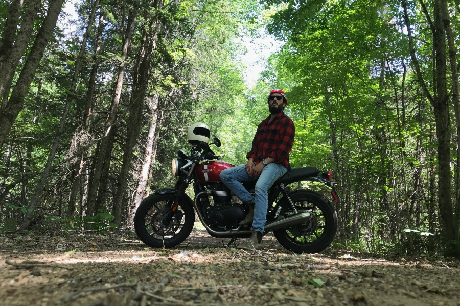 motorcycle-insurance-lessons-british-motorcycle-forest-justin-darosa