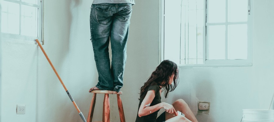 purchase-plus-improvements-mortgage-young-couple-painting-old-house