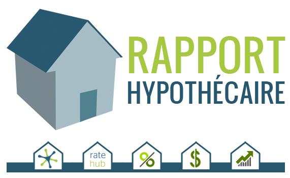 Rapport hypoth caire du mercredi blogue ratehub - Credit hypotheque maison ...